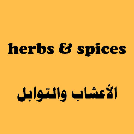 Herbs & Spices Flash Cards